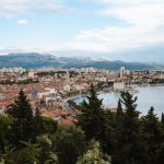 A view of Split from Marjan