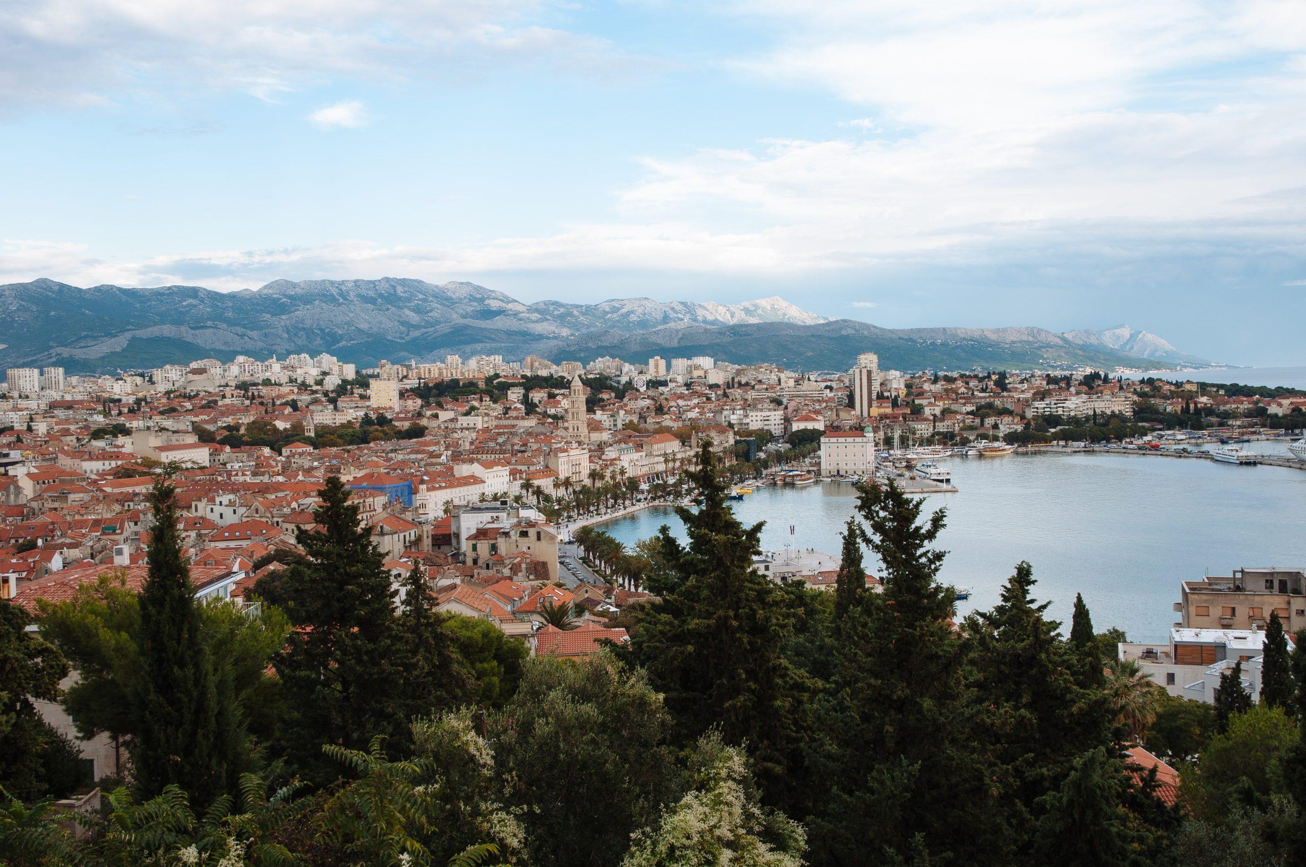 A view of Split from Marjan