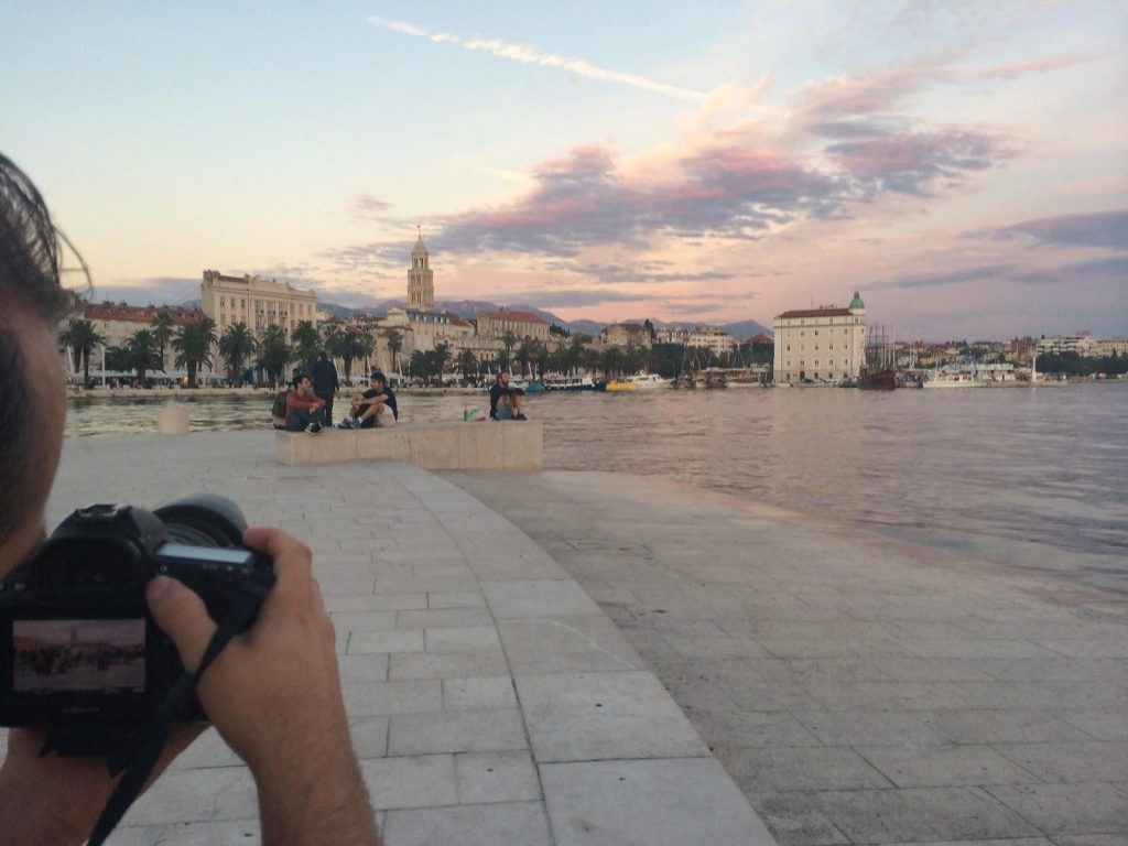 Sunset in Split