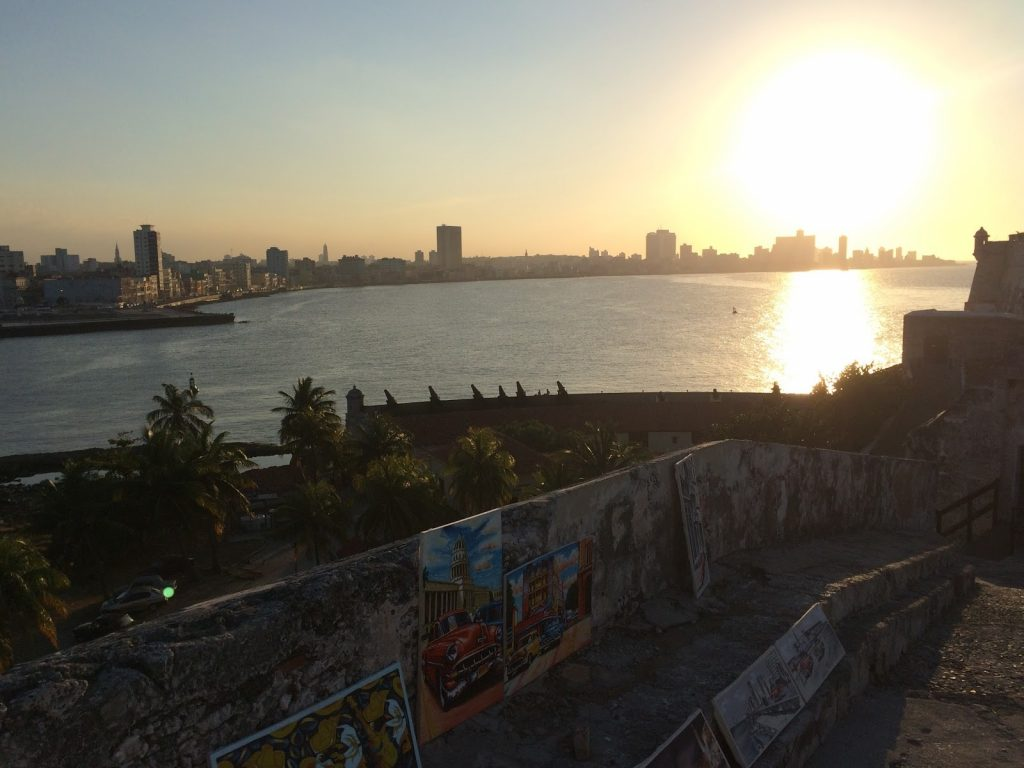 Cityscape from El Morro Fortress