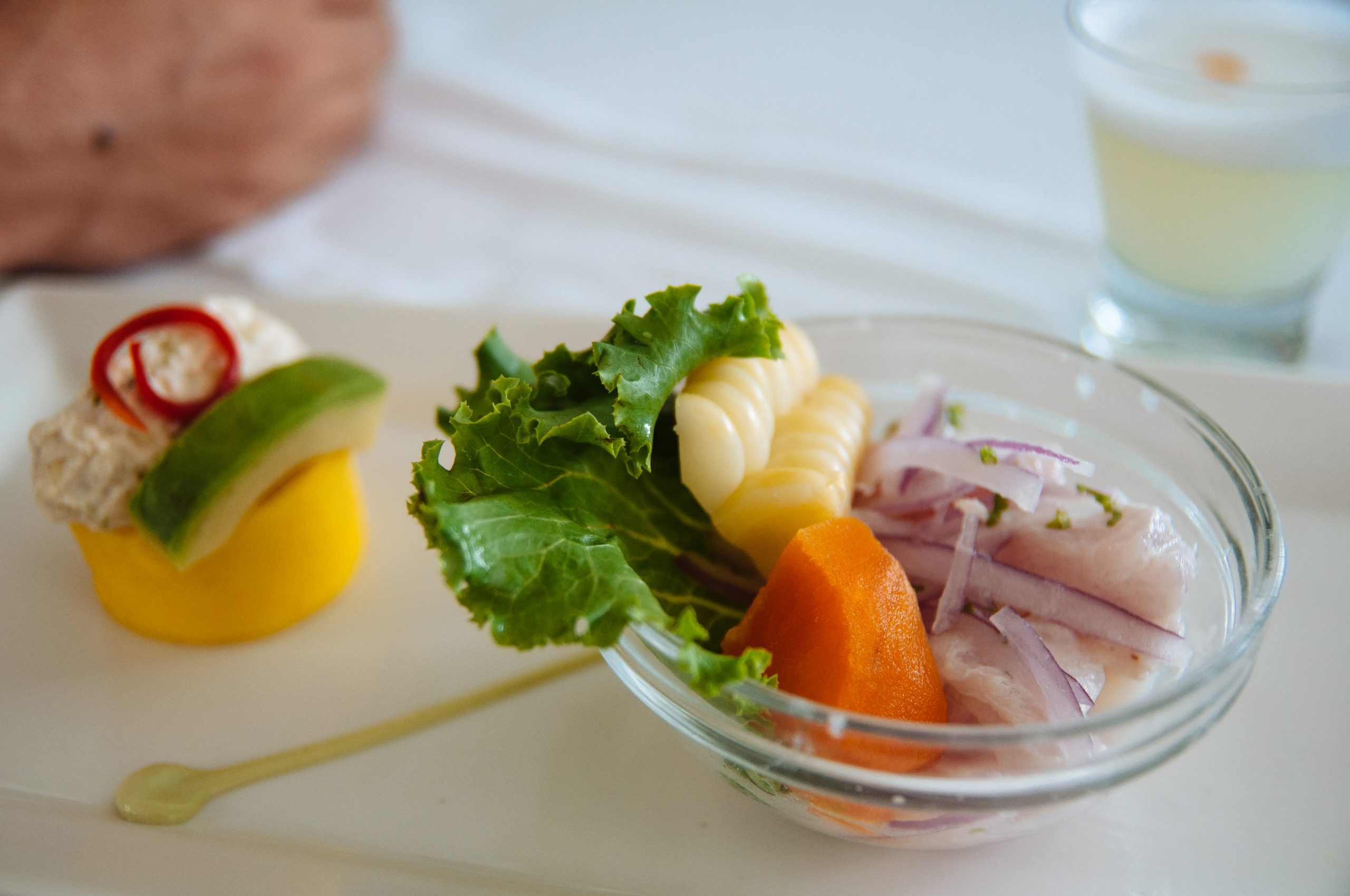 Fresh and delicious ceviche at Senorio de Sulco