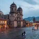 The Church of the Compania de Jesus near Cusco's Plaza de Armas
