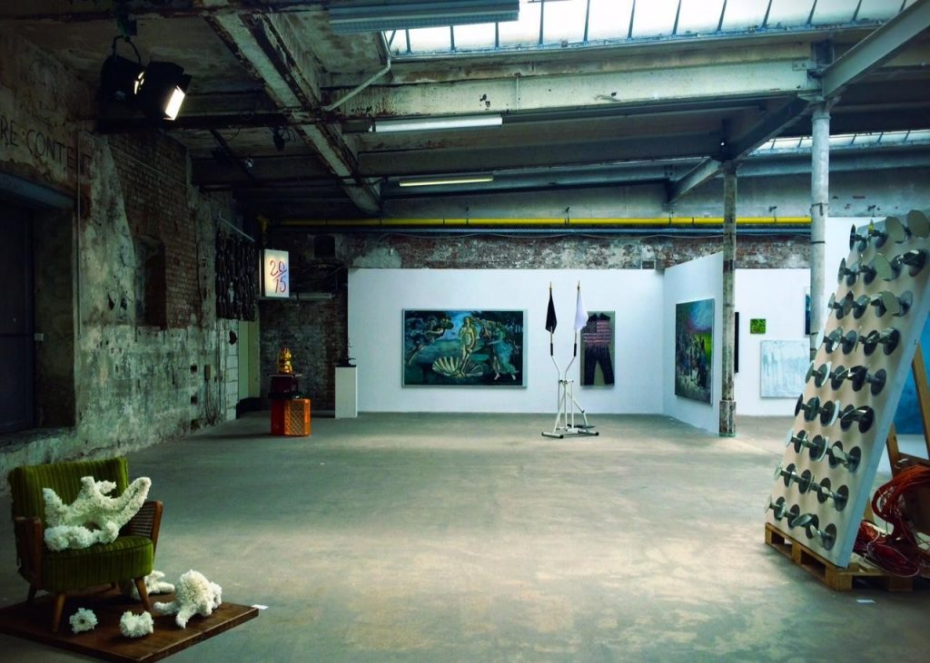 Werkschau Gallery at the Spinnerei