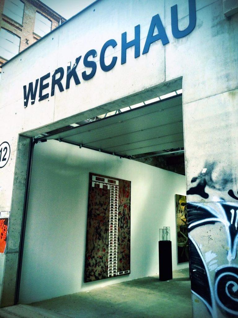 Entrance to the Werkshau Gallery