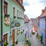 Narrow streets in Meissen