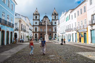 The Igreja e Convento de São Francisco in the Pelourinho neighborhood