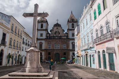 The Igreja e Convento de São Francisco in the Pelourinho neighborhood