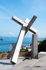 The Monumento da Cruz Caída in Salvador
