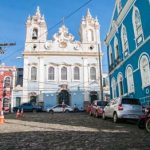 Salvador's colorful Pelourinho area