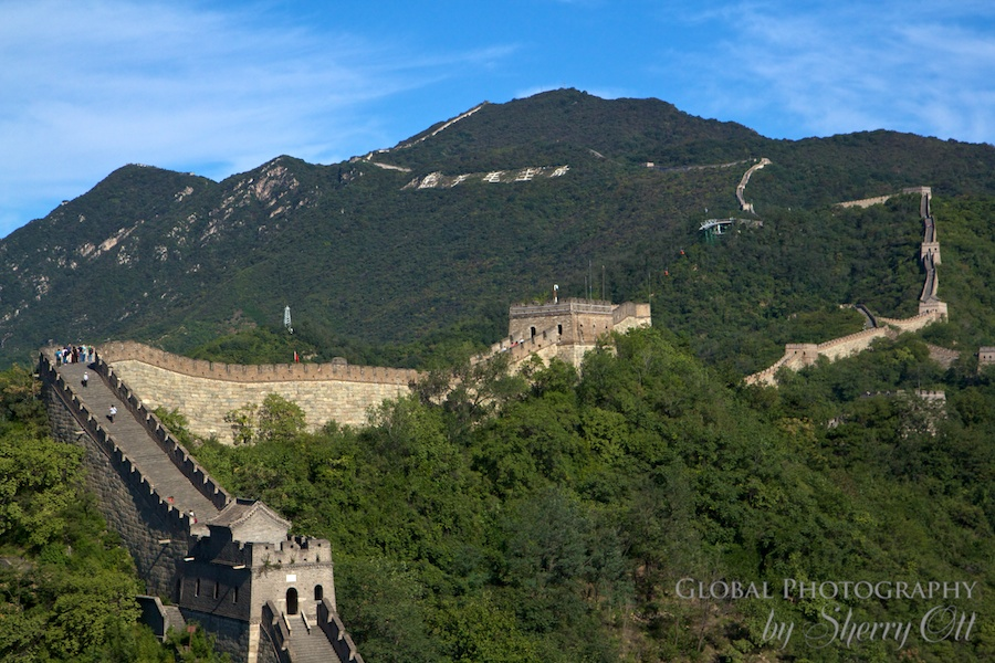The Great Wall represents a very old time in Chinese history