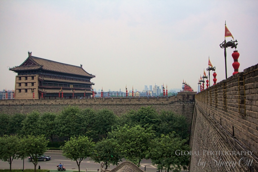 The City Wall in Xi'an