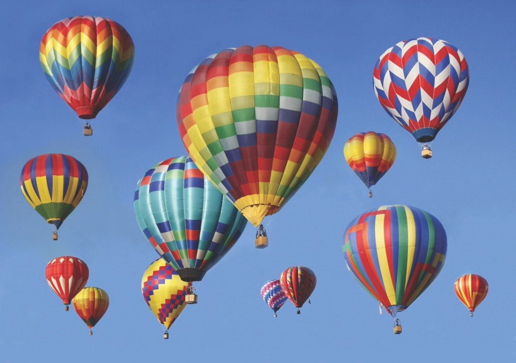 Albuquerque Balloon Fiesta (Credit: Mayflower Tours)
