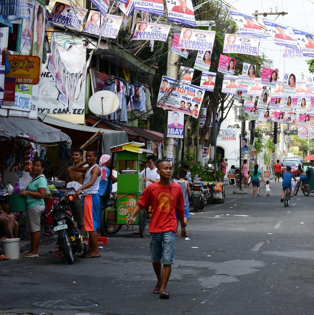 Street Scene, Manila