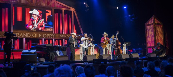 Riders in The Sky, June 10th, 2016 at the Grand Ole Opry.