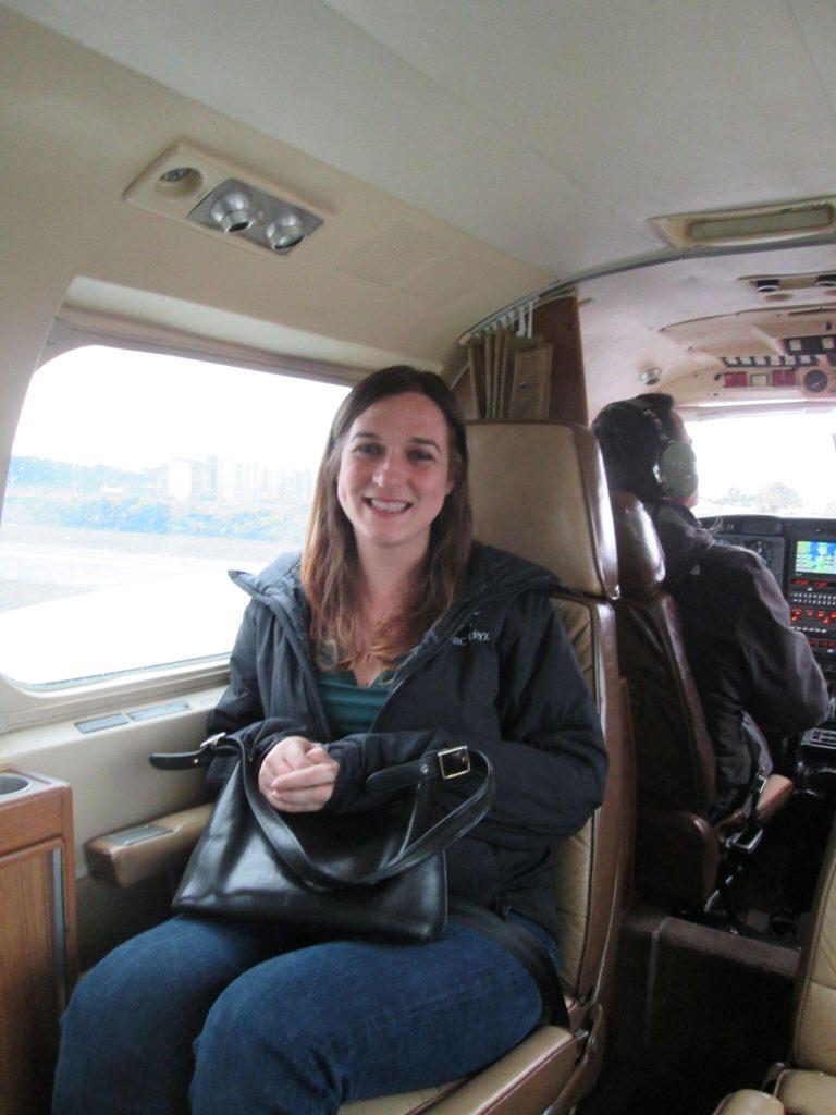 Charter Flight to Castro on Chiloe Island