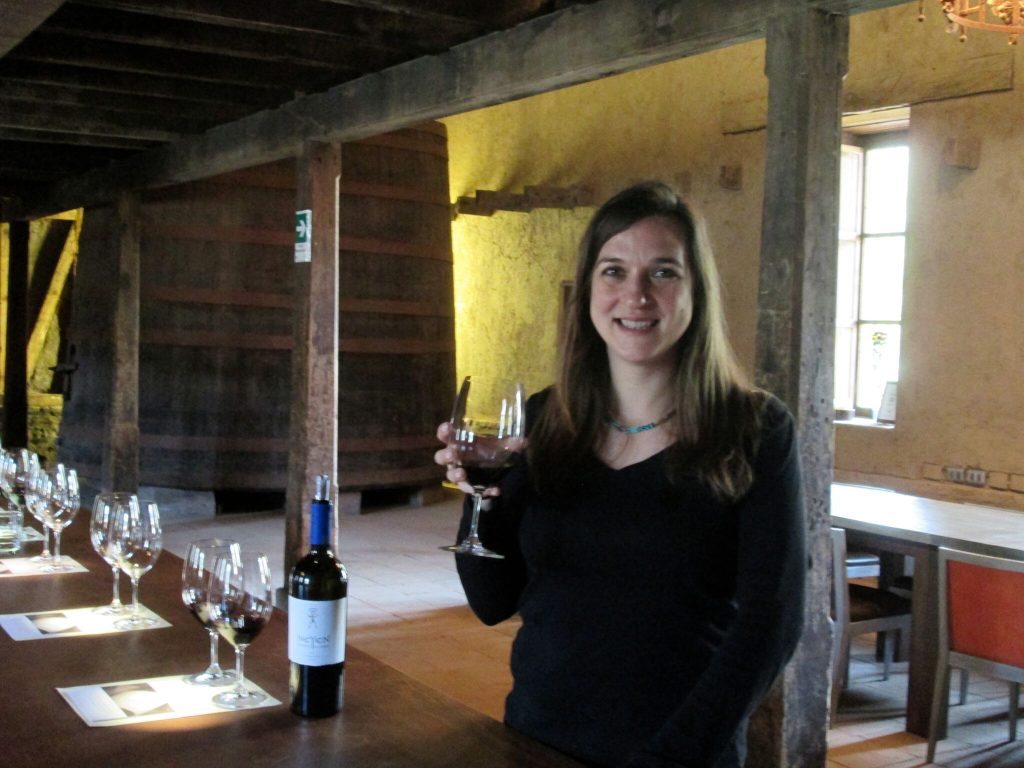 Wine tasting at Neyen Winery