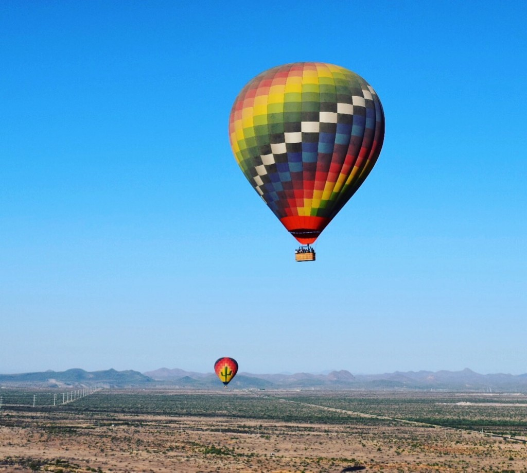 Hot Air Ballooning by Megan Murphy