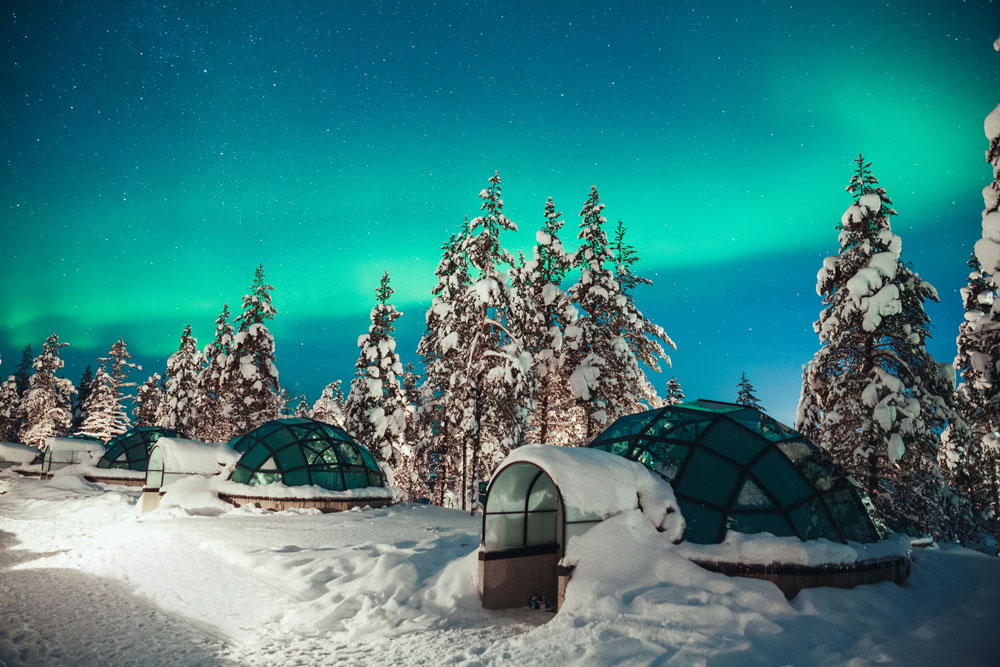 Europe Express' Kakslauttanen Arctic Resort Winter Escape