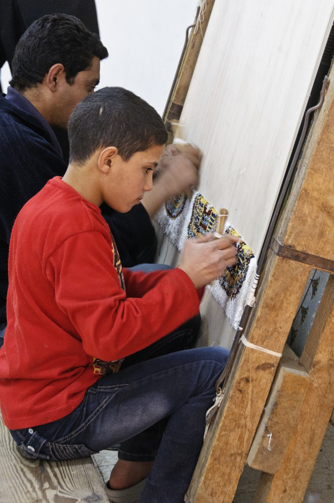 Carpet School - Living Like a Local in Egypt