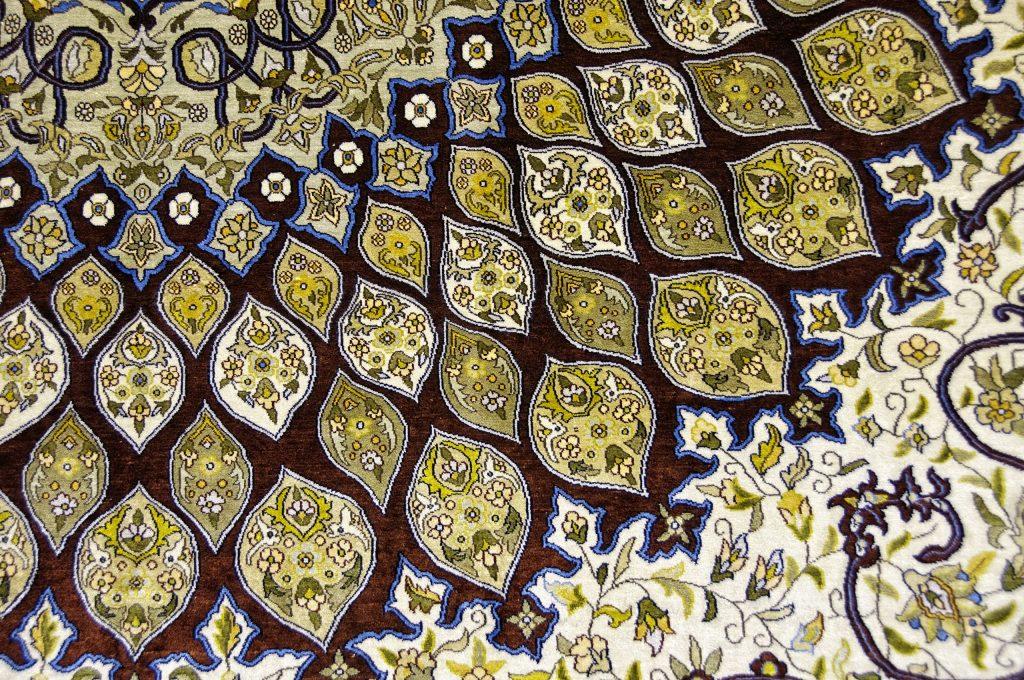 Egyptian carpet detail - Living Like a Local in Egypt