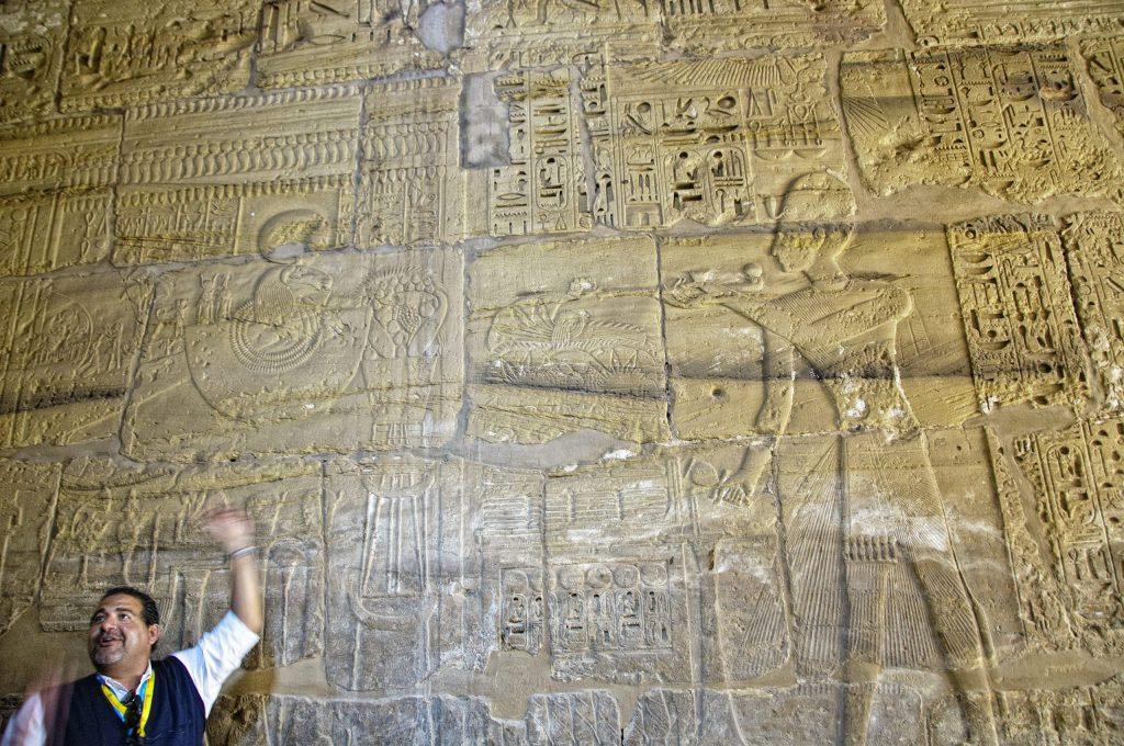 Mohamed in Karnak - Living Like a Local in Egypt