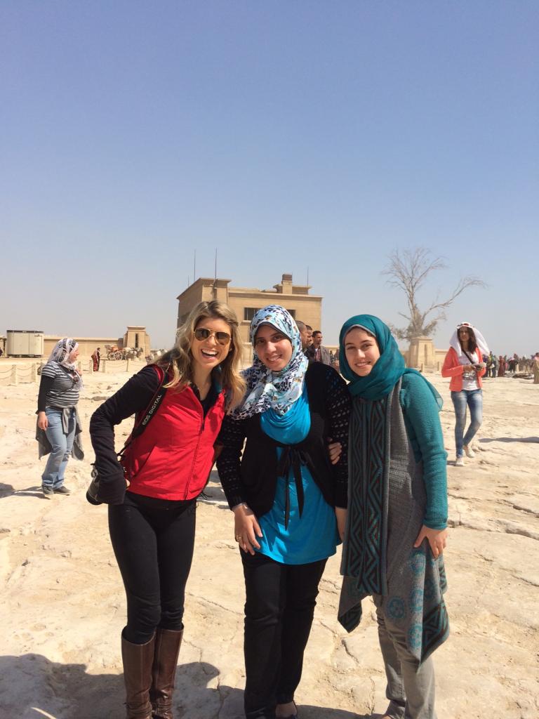 Meeting Local Egyptian Women. Image: Kelley Ferro