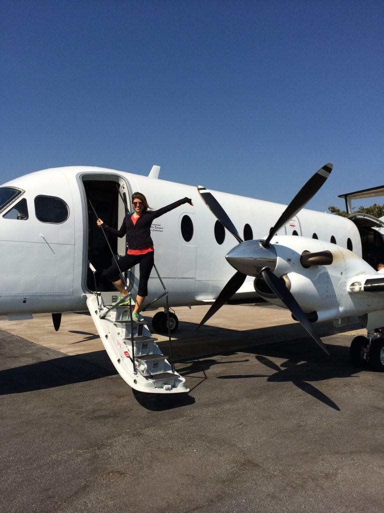 Arriving in South Africa
