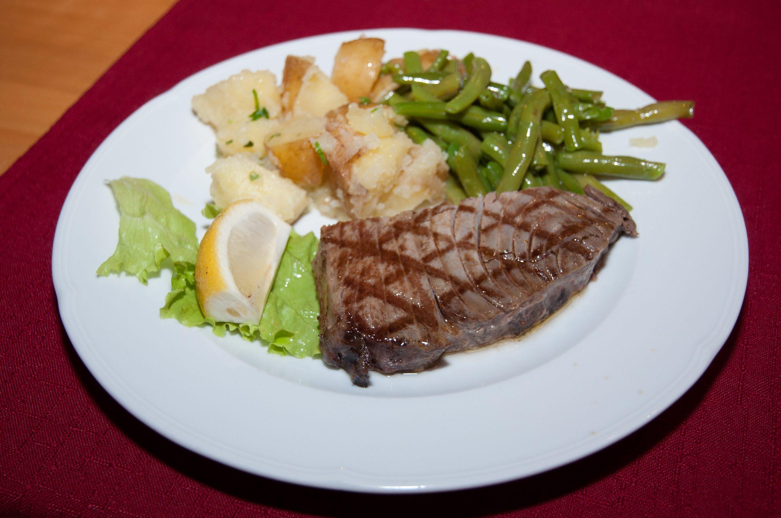 Chef Ante's main course.