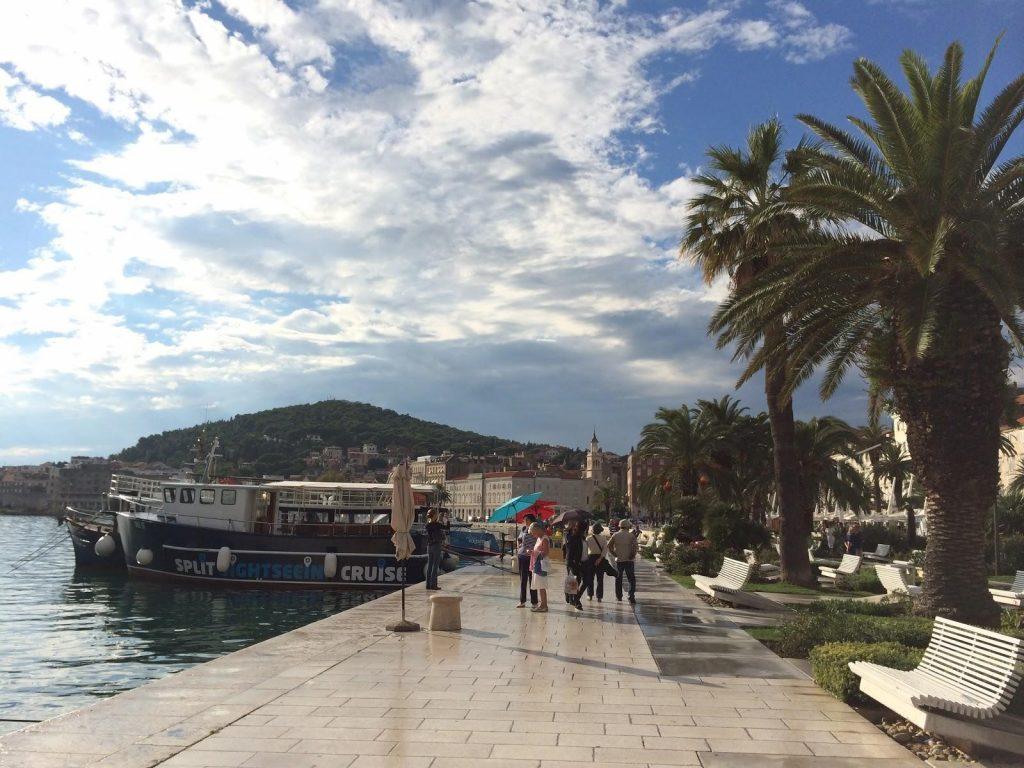 Riva: Split's bustling waterfront promenade