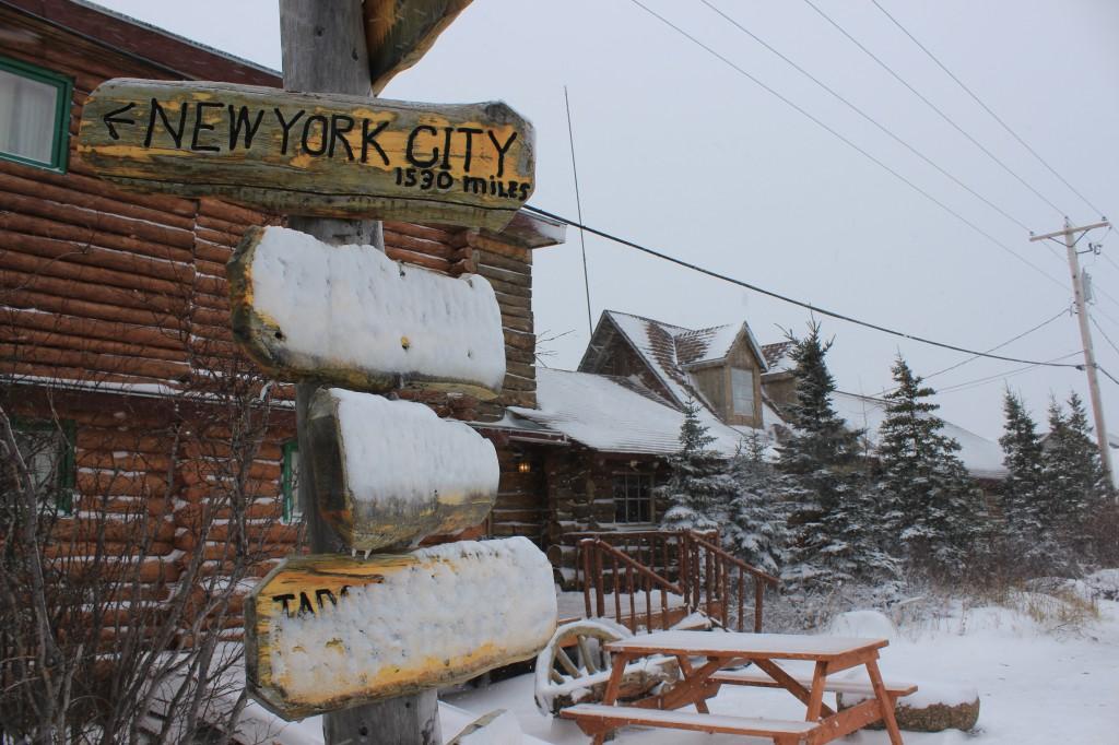 I felt very far from New York City