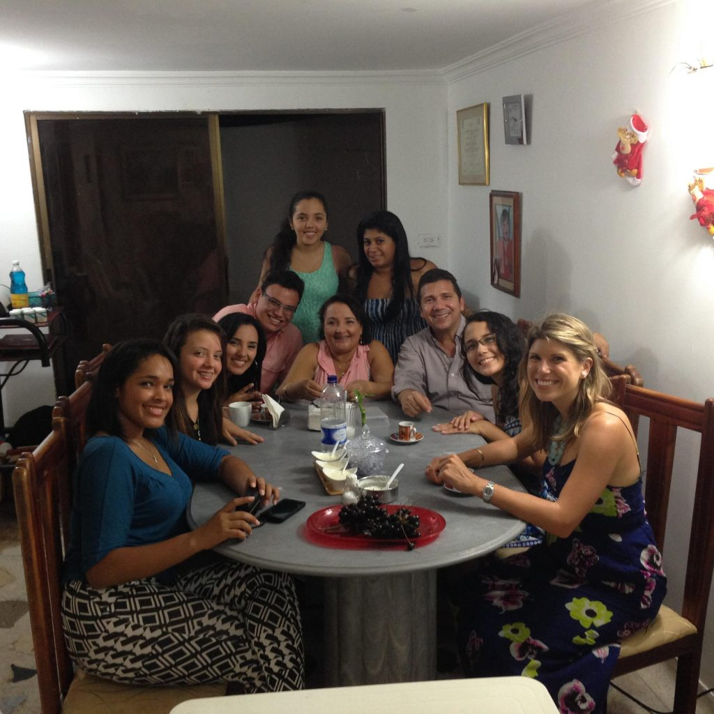 The full Perez-Cuesta Family + Cousin Melissa
