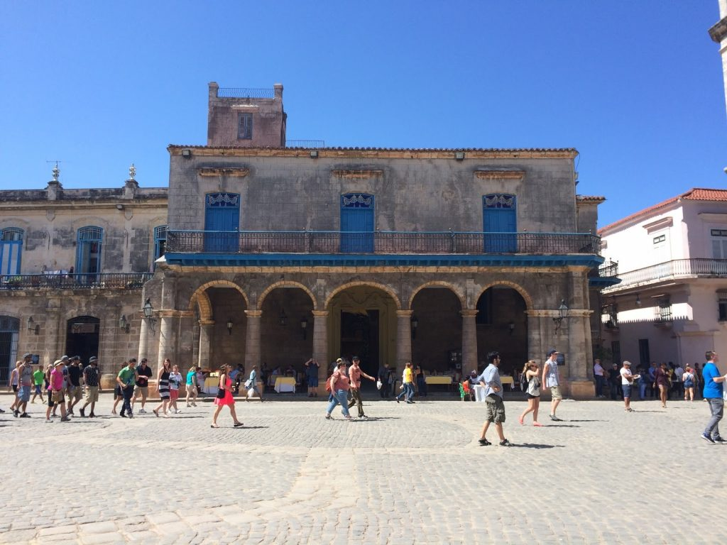 Beautiful Architecture of Old Havana