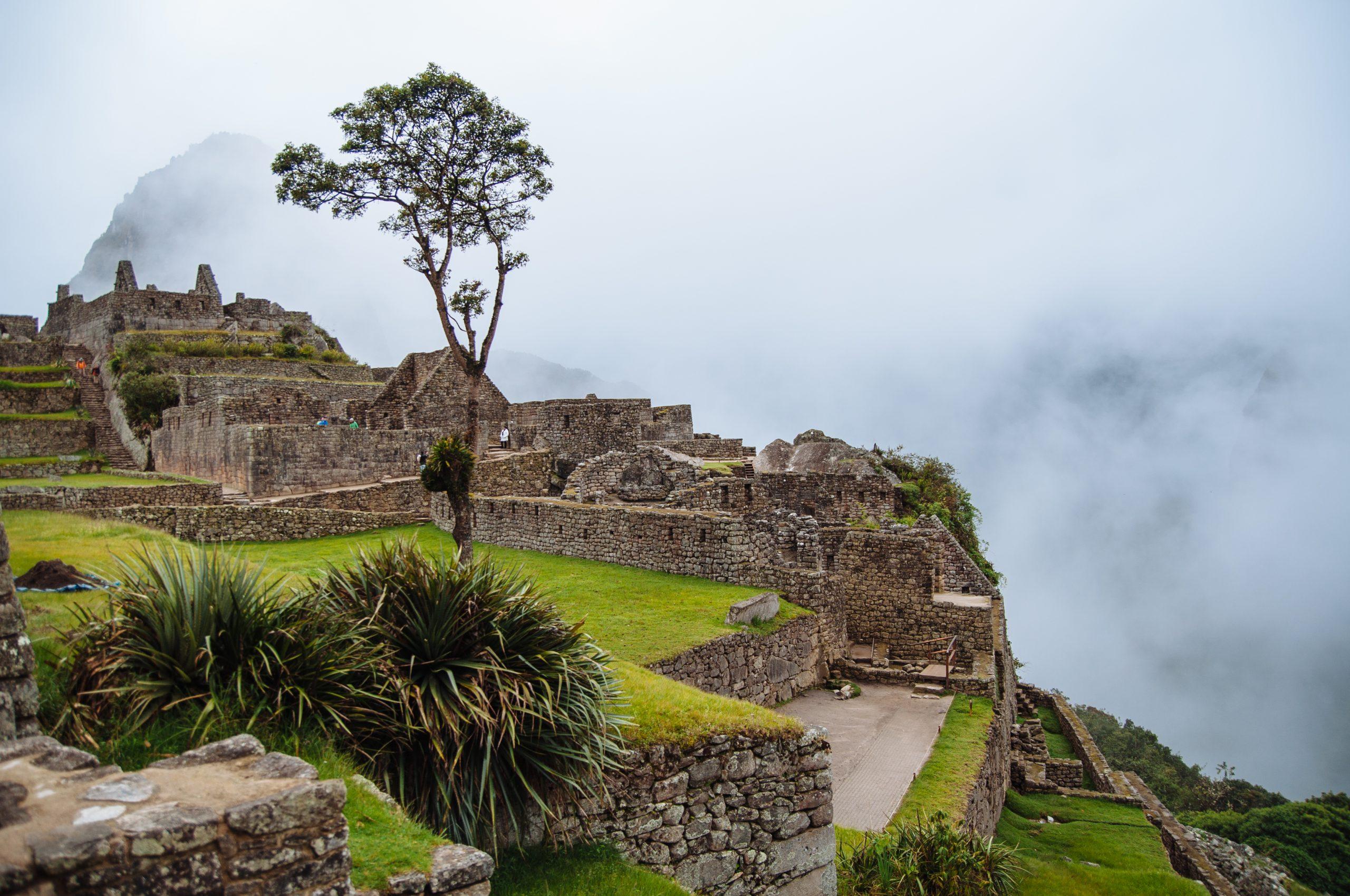 The start of The Machu Picchu Complex