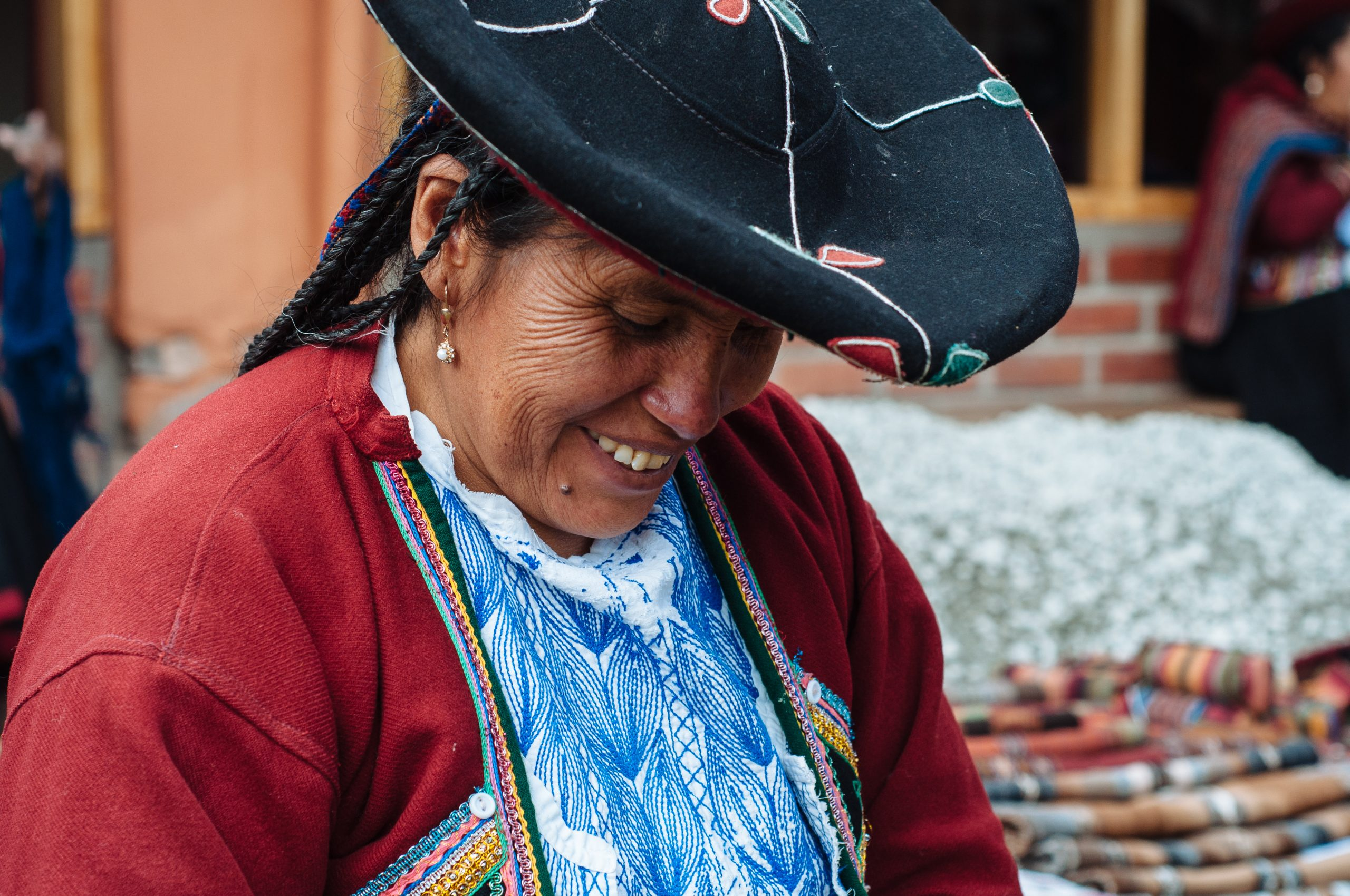 The women at the Chinchero Weaving Collective are incredibly kind
