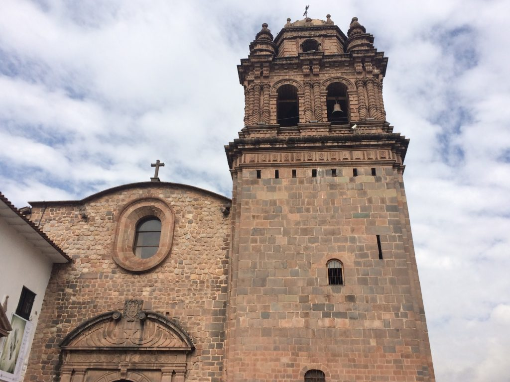 Incan Temple of the Sun converted into The Church of Santo Domingo by the Spaniards