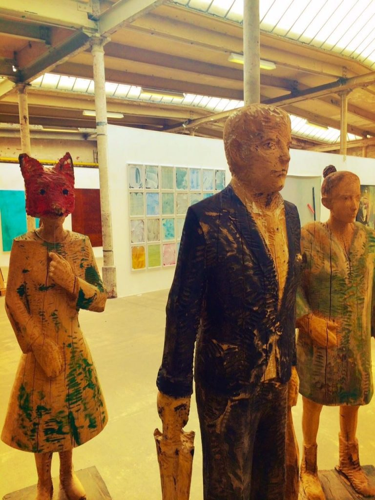 A Foxy Werkshau Exhibit