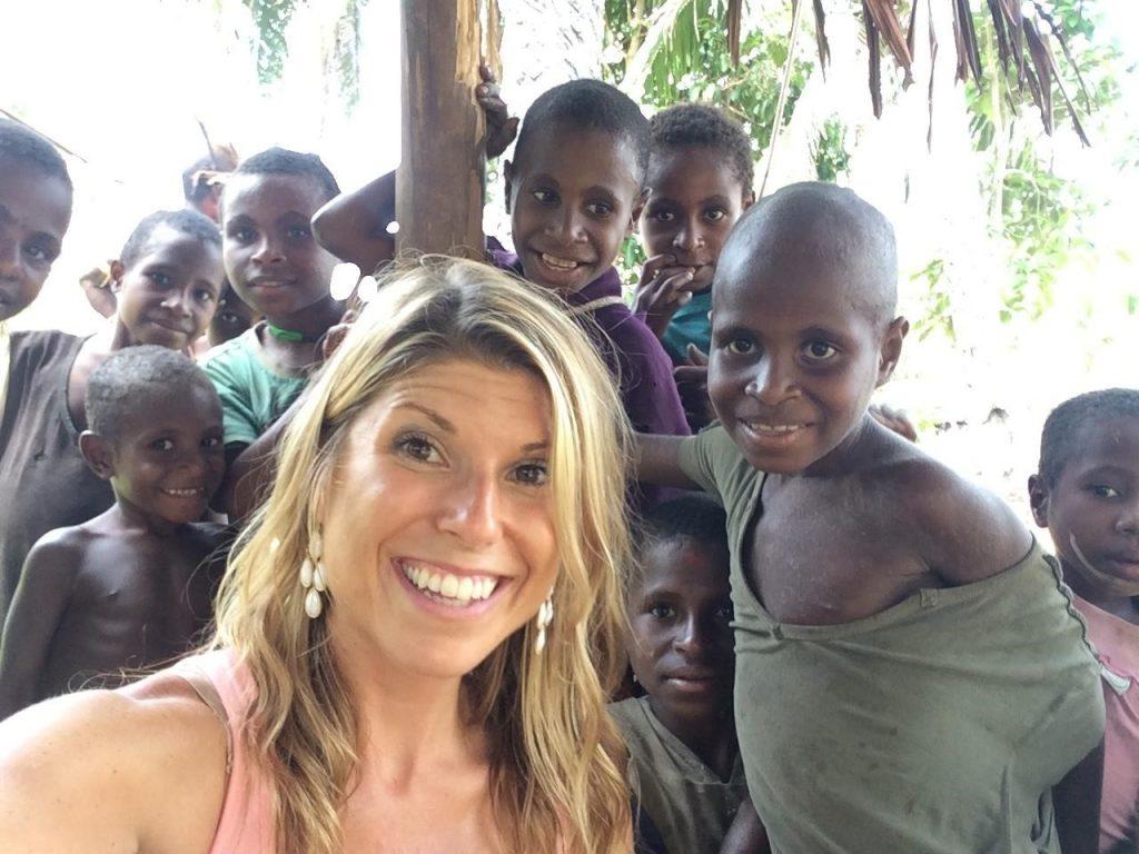 Friendly local children