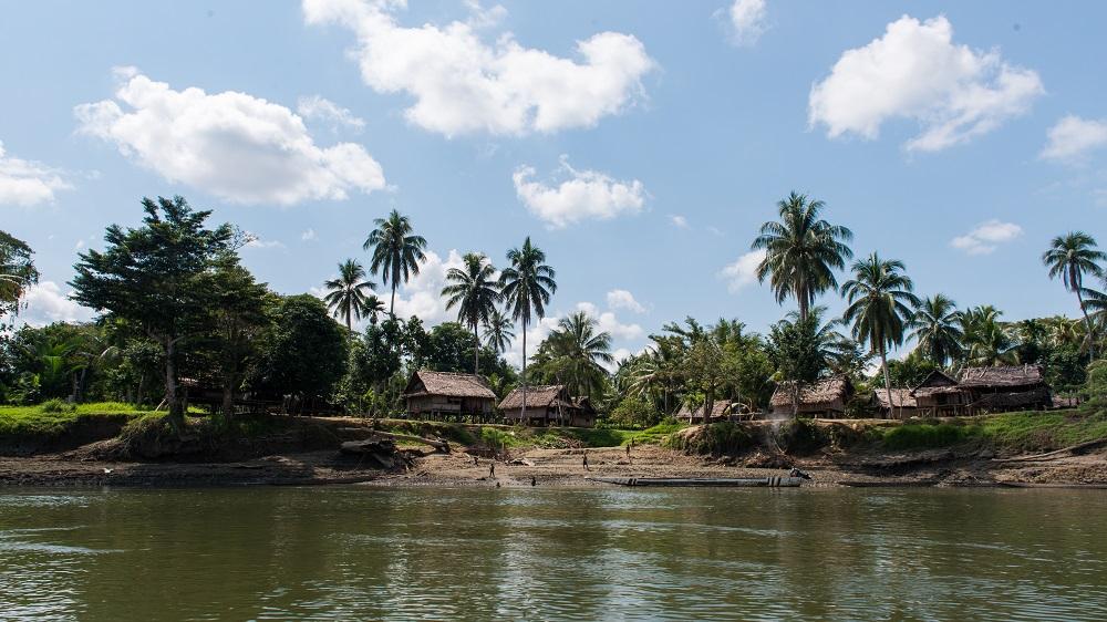 A snapshot of life along the Karawari River.