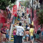 The incredible Escadaria Selarón, such a great artwork