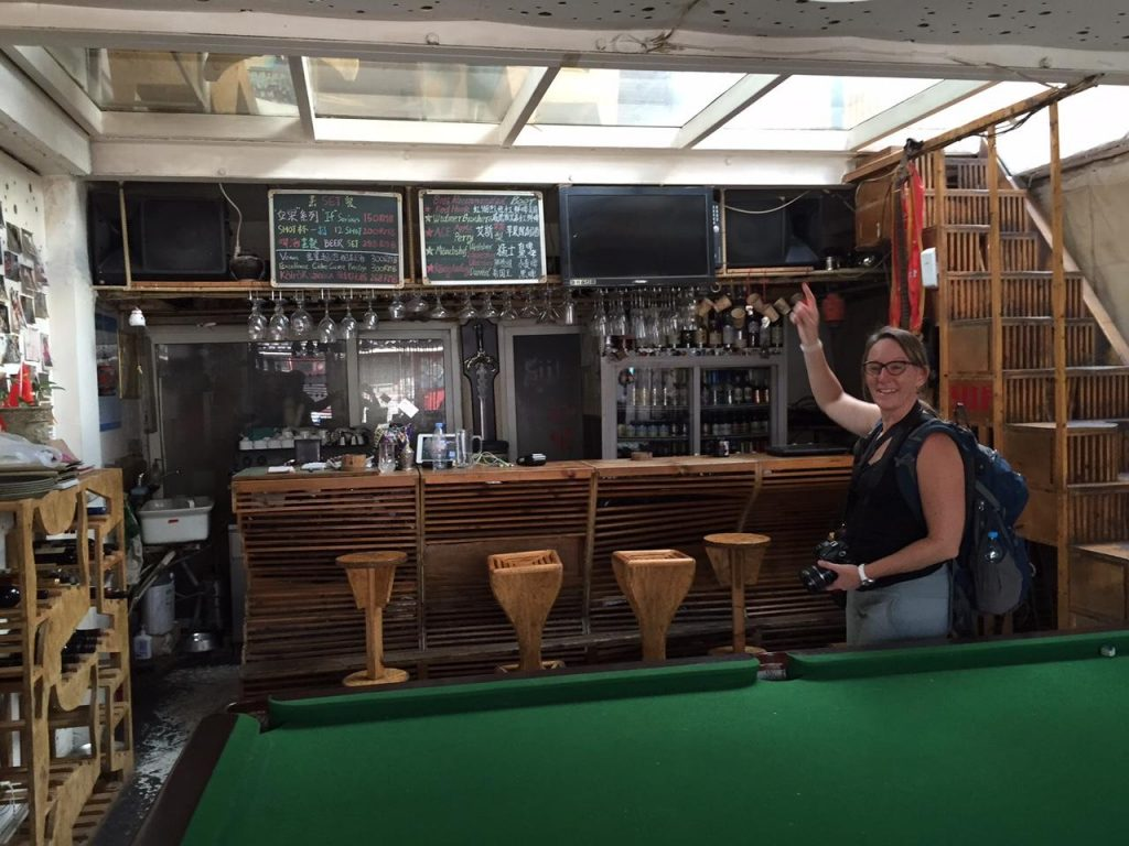 Sherry Ott, equally impressed by Bar Si...if and its second level