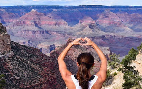 I heart the Grand Canyon by Megan Murphy with Contiki
