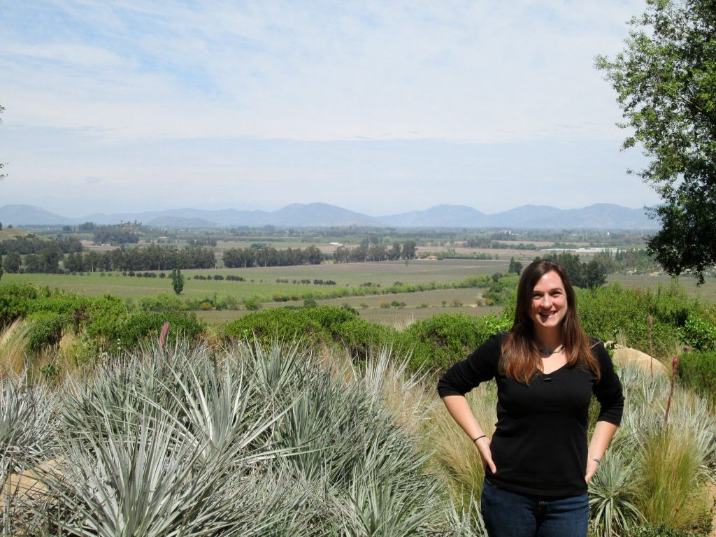 Modern Day Explorer Rebecca Rhyan of Cox & Kings, The Americas at  Lapostolle Residence in the wine regions surrounding Santiago