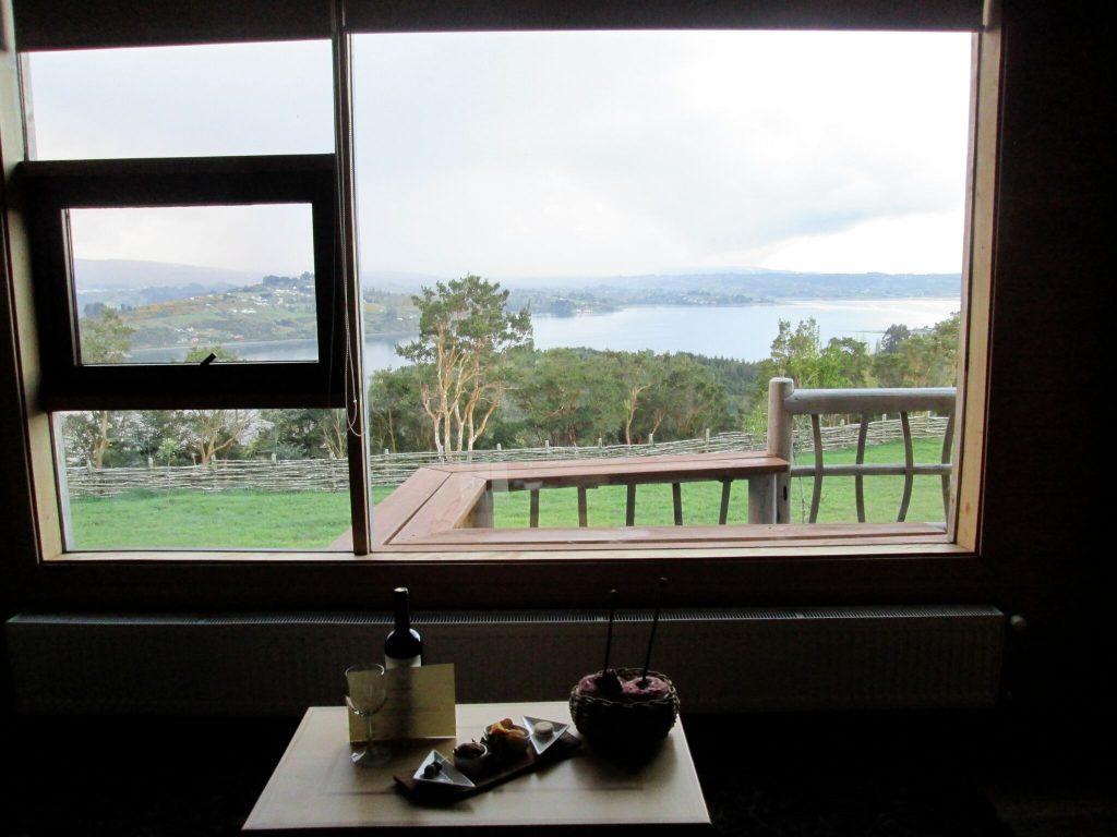 The view from Hotel Centro de Ocio