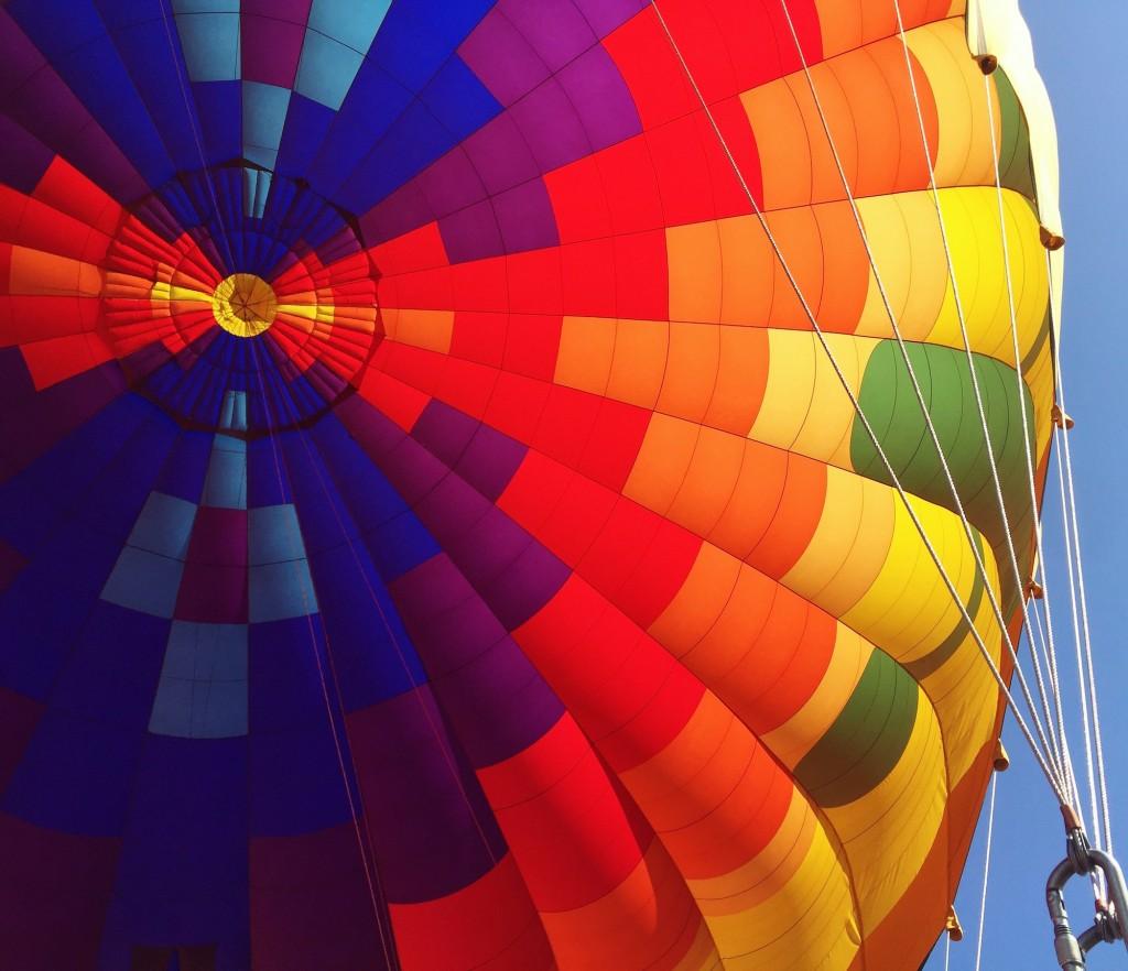 Hot Air Balloon by Megan Murphy