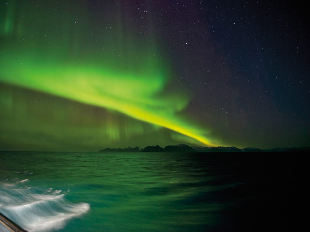 Quark Expedition's East Greenland: Northern Lights