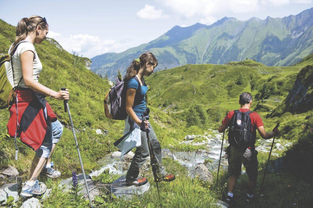 Alpine Adventure - kids hiking