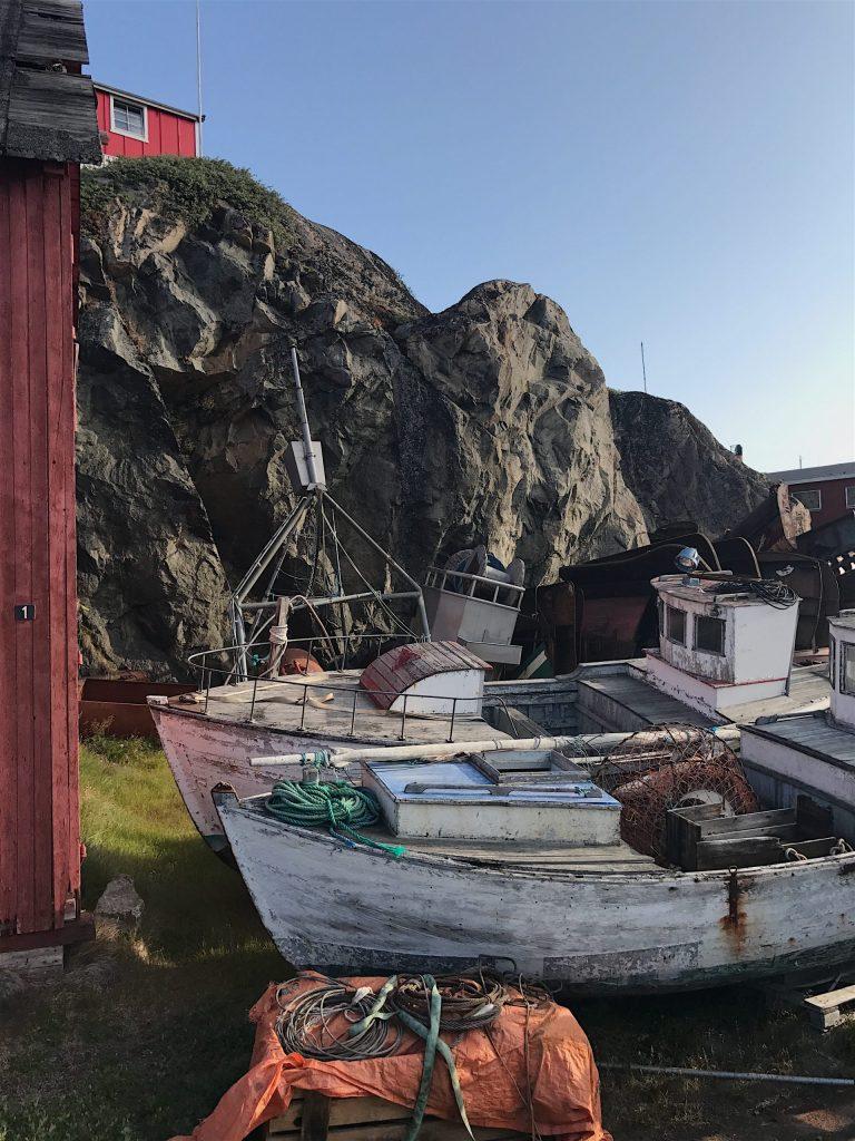 BoatsinSisimiut
