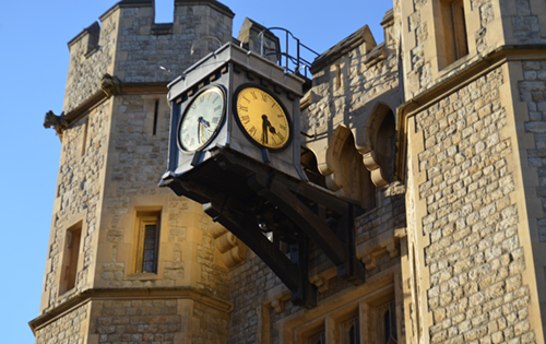 Tower of London clock AM - rs
