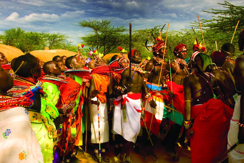 Ceremonial Warrior Dancers - Credit Erico Hiller