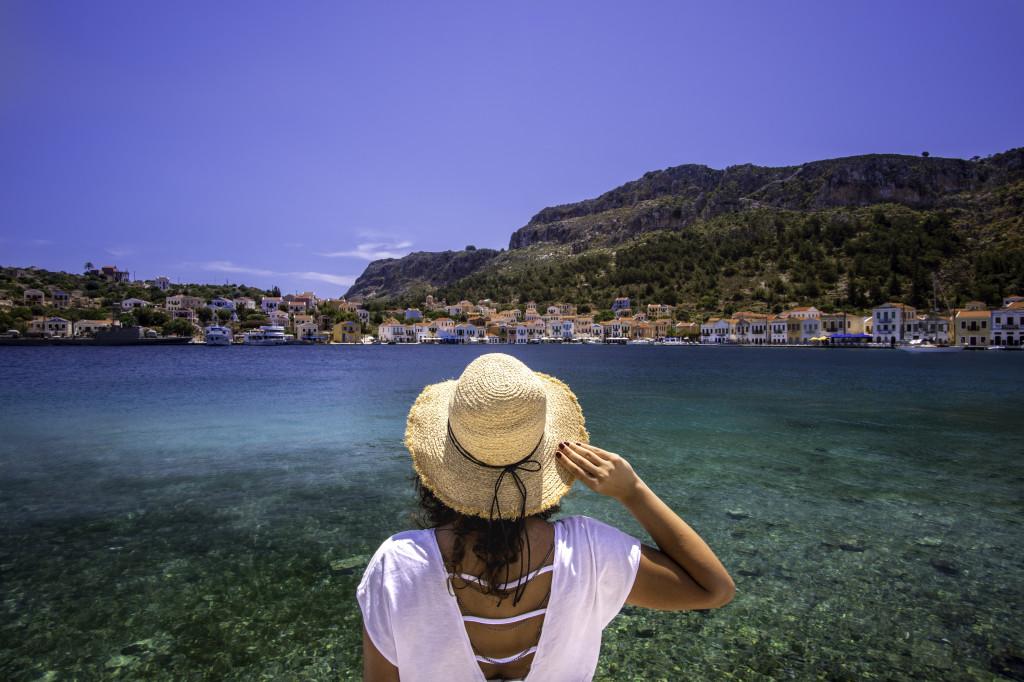 Travel to Greek Island